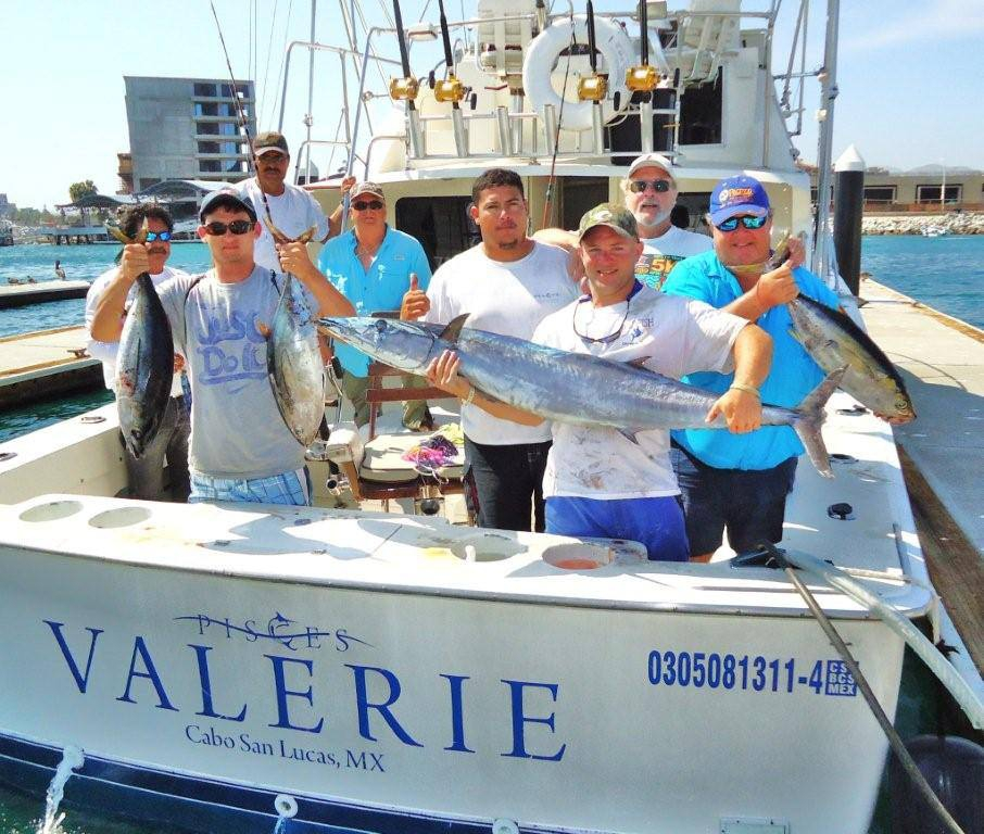 Valerie fishing in los cabos mexico for Los cabos fishing charters